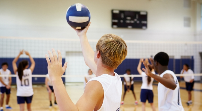 volleyball court leisure facility rental