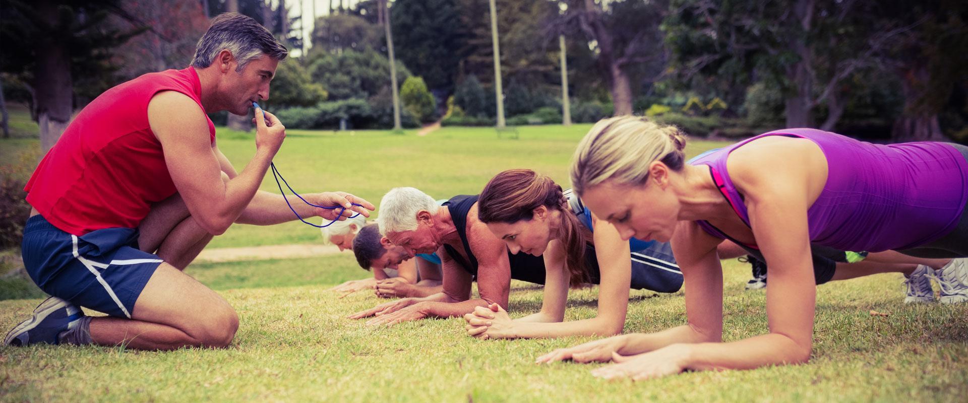 Community fitness classes